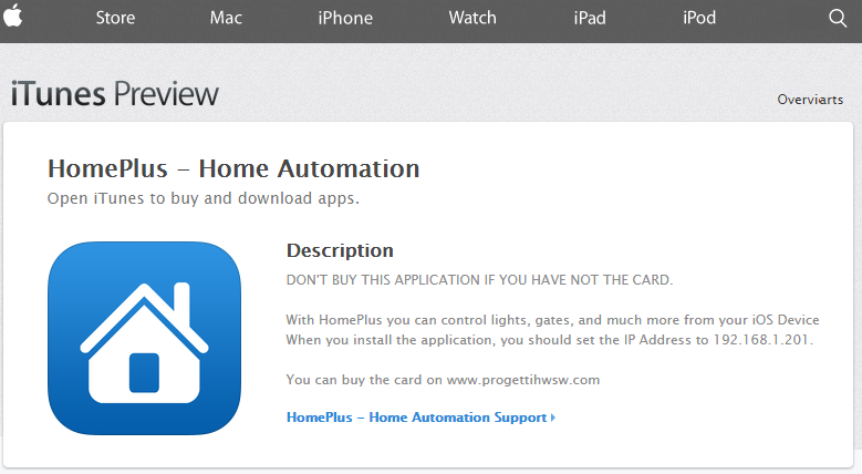 apple progettihwsw